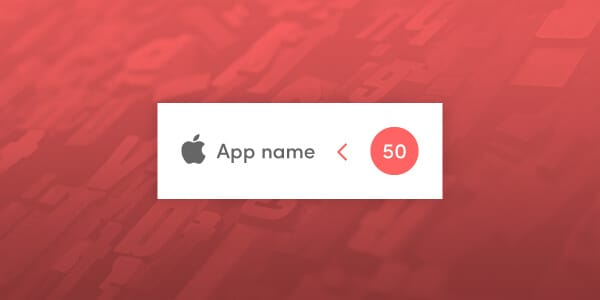 Apple App Names Now Reduced to 50 Characters