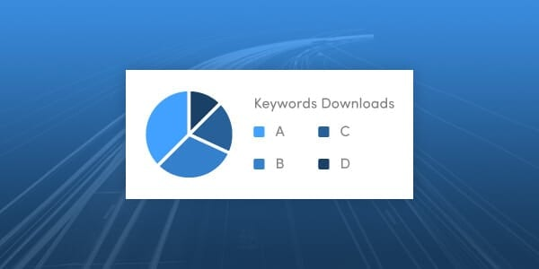 Keywords Organic Downloads Distribution