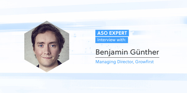 ASO Expert Interview: Benjamin Günther