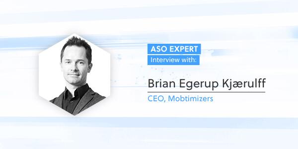 ASO Expert Interview: Brian Egerup Kjærulff