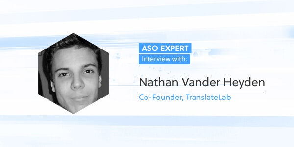 ASO Expert Interview: Nathan Vander Heyden