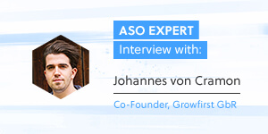 ASO Expert Interview: Johannes von Cramon