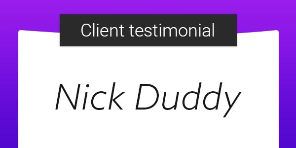 ASO Client Testimonial: Nick Duddy from Miratrix