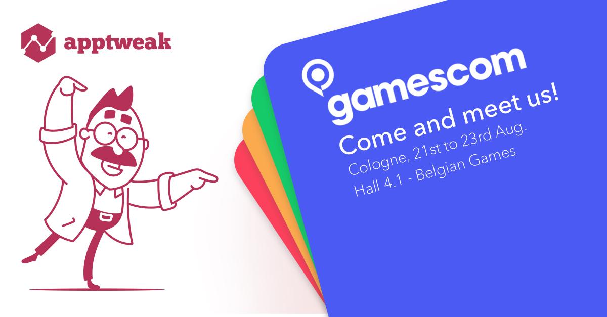 AppTweak at Gamescom 2018