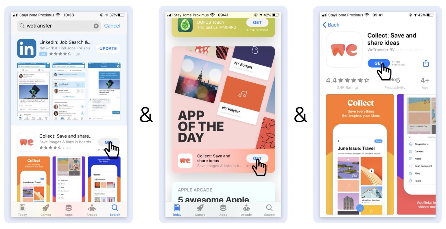 app intelligence dashboard - apptweak aso tool