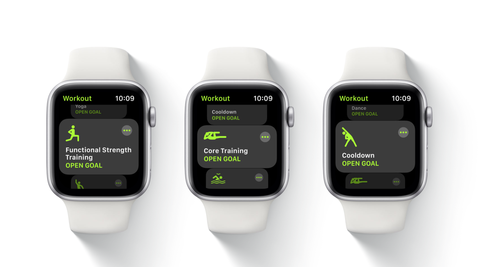 Apple Fitness app on Apple Watch